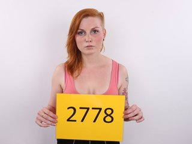 Busty redhead Czech chock Veronika..