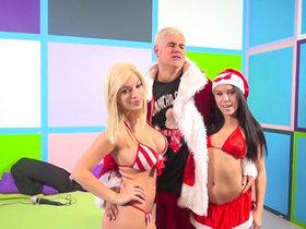 Megan Rains & Bibi Noel tag team Porno..