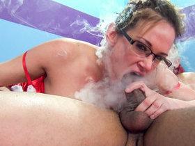 Tory Lane And Savannah Fox in smoking..