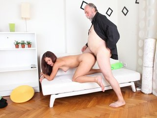Alyona is a sexy young woman and she..